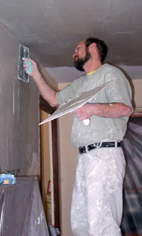 Repairing plaster in CT and NY